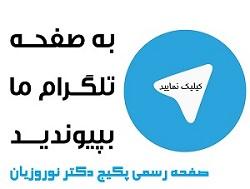 کانال تلگرام اصلی دکتر نوروزیان